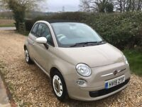 2015 Fiat 500C Convertible. Manual. Only 17900 miles Excellent Condition