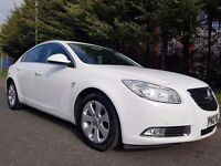 JULY 2011 VAUXHALL INSIGNIA SRI 2.0 CDTI 158BHP 6SPEED LOVELY EXAMPLE IN WHITE LOW MILEAGE ONLY 81K!
