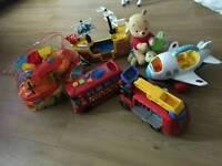 Toddler toy bundle megablox, ELC, little people