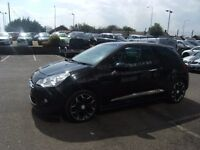 2012 12 CITROEN DS3 1.6 E-HDI DSTYLE PLUS 3D 90 BHP **** GUARANTEED FINANCE ****