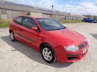 2004 FIAT STILO 1.4 ACTIVE 16V 3 DOOR HATCHBACK RED