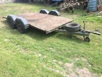 Flat Bed Trailer 14ft x 6ft