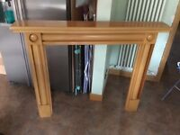 Real Beech Wood Fire Surround