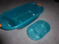 Baby bath and top/tail bowl