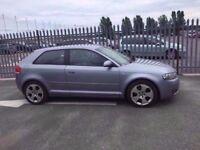 2003 Audi A3 2,0 litre diesel 3dr 2 owners FSH