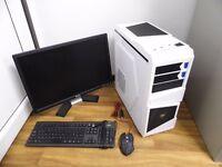 Custom Built Gaming Computer with 22 inch Monitor (intel i7, 8GB RAM, GTX 480)