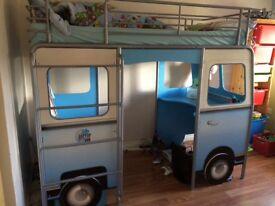 Fantastic cabin bed/high sleeper - vw caravanette - amazing bed