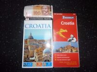 CROATIA TRAVEL BOOK , MAP, 220 KUNA