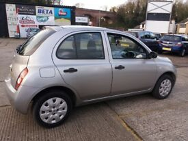 2004 NISSAN MICRA LOW MILES FULL MOT
