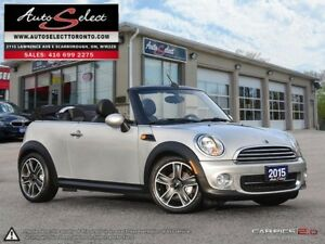2015 Mini Cooper Convertible ONLY 76K! **6 SPEED** CONVT **CL...