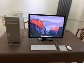 Apple Mac Pro (early 2008) Computer, complete with 30 inch monitor.