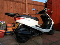YAMAHA VITY 125, 2009 REG, MOT 2 DAYS OLD, £750