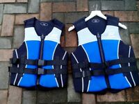 Childs buoyancy jackets x 2
