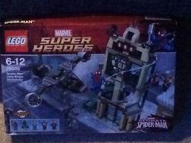 Marvel Superheroes Ultimate Spider-Man Lego Brand New