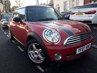 MINI COOPER 1.6 HATCHBACK 2007 NEW SHAPE 10 STAMPS XENON RED LEATHERS FULL HISTORY NEW MOT MINT