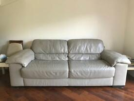 Natuzzi Super comfy leather sofa for sale