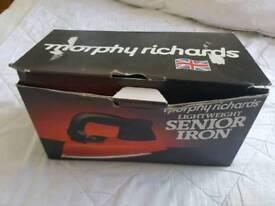 Vintage Morphy Richards Lightweight Senior Iron