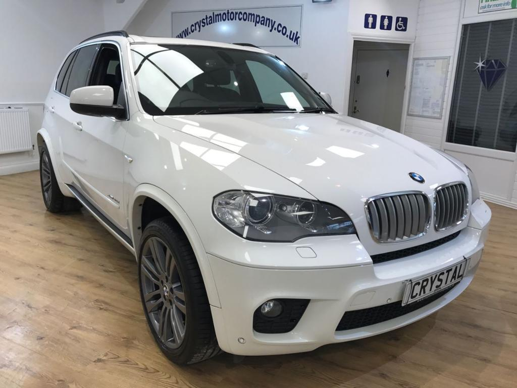 bmw x5 3 0 xdrive40d m sport 5d auto 302 bhp 7 seats pan white 2012 in northampton. Black Bedroom Furniture Sets. Home Design Ideas