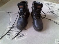 Trojan Steel Toe Cap Boots Size 9 For Sale