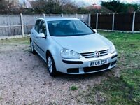 VW GOLF 1.6. ONLY 70.000 MILES FROM NEW. ONE OWNER.2 KEYS.