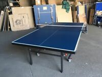 Gallant Knight Academy 19 Indoor Table Tennis Table - Blue (damaged in transit) *COLLECTION ONLY*
