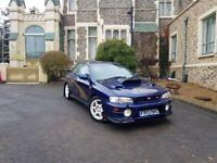 Subaru Impreza Turbo 2000/V Awd FSH/ Mica Blue/Leather/Working Aircon/New Clutch/Classic/ £3450