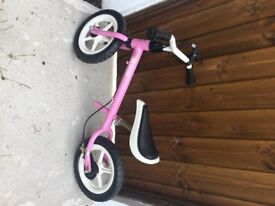 """Kettler Balance bike - Speedy 12.5"""" Pink. Perfect for 2-4 year olds"""