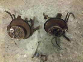 Austin metro/mini AP 4 pot vented brake conversion