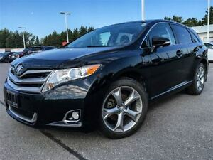 2014 Toyota Venza V6 XLE-LEATHER+SUNROOF+XTRA WARRANTY!