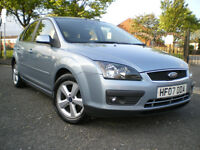 *** Ford Focus 2007 1.6 Zetec Climate 5dr AUTOMATIC **12 MONTHS MOT** FULL SERVICE HISTORY***