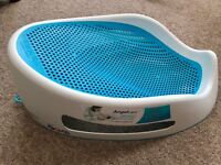 New Angelcare Soft-Touch Baby Bath Support - Blue