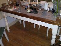 Big Retro Dining Table