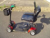 GO-GO ELITE TRAVELLER MOBILITY SCOOTER IN AS NEW CONDITION