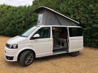 "VW Campervan conversion . Rib bed. Raising Roof. Weaco Fridge. 2015. 20"" alloys sportline bumper"