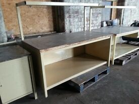 "Heavy duty work bench Type ""C"", second hand but in good order, other types elsewhere on Gumtree"