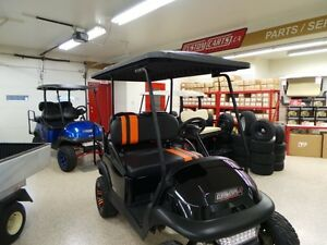 2012 club car Precedent ELECTRIC GOLF CART  BRAND NEW BATTERIES Belleville Belleville Area image 4