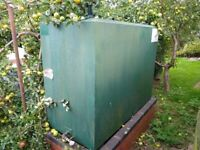 FREE TO TAKE AWAY- USED VGC Domestic Fuel Oil Tank 1350L/ 300 gallons