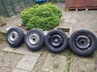 Renault traffic steel wheels and tyres
