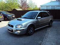 SUBARU IMPREZA WRX TURBO 2.0T SPORTWAGON BHP224 4WD 2005 LEATHER SEATS EXTRAS F.S.H 2KEYS FOR 3195
