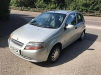 DAEWOO KALOS 1.3 PETROL 2003 1 YEAR MOT DRIVES THE BEST..ONLY DONE 60K MILES