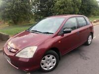 2003 HONDA CIVIC 1.7 CDTI S 5 DOOR HATCHBACK # cheap insurance model