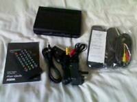 Freeview TV Digital Box + Leads & Remotes