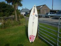 6ft surf board and wet suit