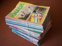 "85 Vintage ""The Knack"" DIY Magazines from 1980"