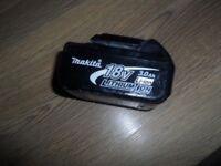 Makita 18v 3ah battery