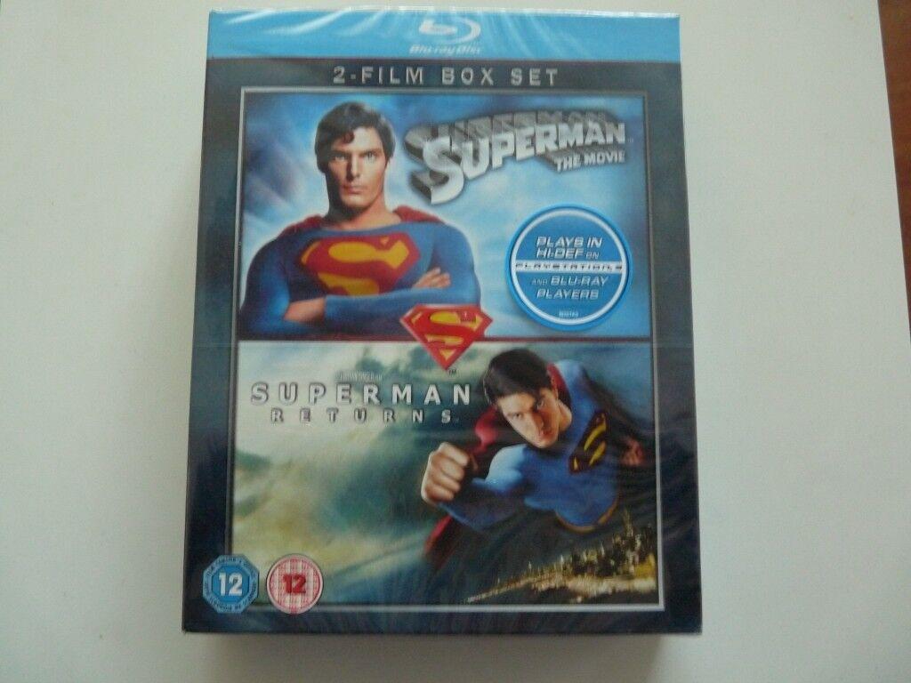 Superman / Superman Returns 2 Film Box Set Blu-ray   in Newhaven, Edinburgh    Gumtree