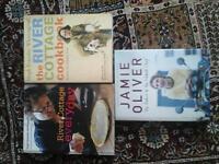 River Cottage and Jamie Oliver Cookbooks