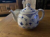 Ironstone Denmark teapot