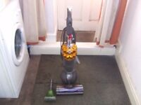 reconditioned dyson dc50 ball with tools and turbo brush.