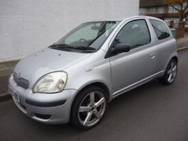 toyota yaris T3 , 1.0cc,metalic silver,only 57000 miles,five speed manual,all extras,beautiful car.